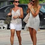 Ibiza 2012 - Ilary Blasi sorpresa con gli skin jewels Stroili Oro foto 3