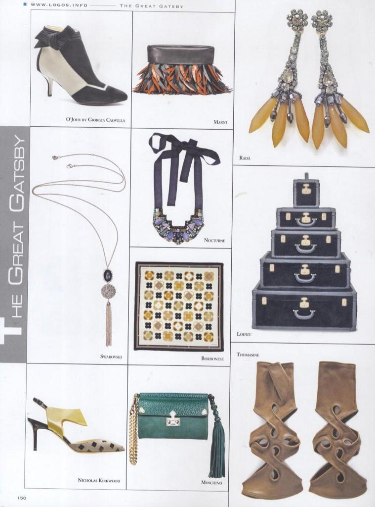 separation shoes 450a1 d9c8e Le scarpe di O Jour su Collezioni Accessori - Michela ...