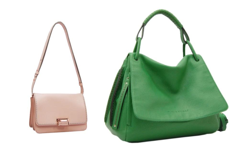 Verde o nude  Scegli la tua borsa in pelle Plinio Visonà!  074e76a757f