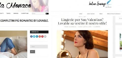 Completini intimi Lovable: il San Valentino romantico di Amanda Monaco e Maggie Dallospedale